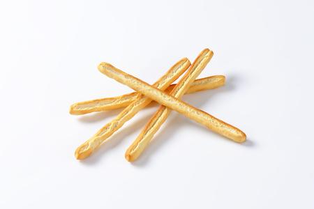 gressins: Grissini breadsticks with olive oil