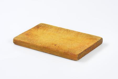 old rectangular wooden chopping board