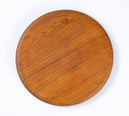 smooth wood: smooth round wood cutting board