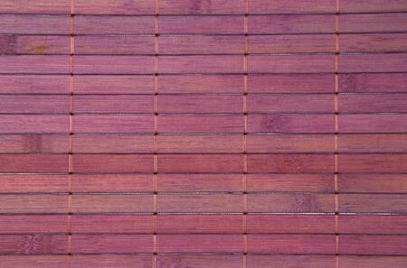 placemat: Detail of violet bamboo placemat