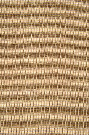 placemat: Detail of woven cotton yarn placemat