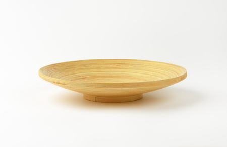 hand crafted: Empty hand crafted bamboo bowl