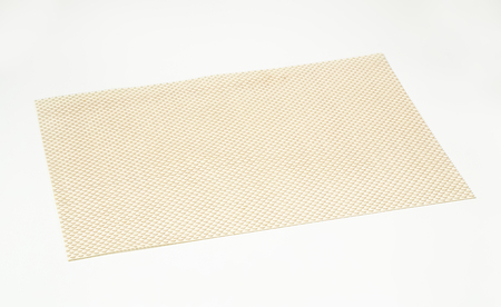 placemat: Basketweave placemat made from vinyl
