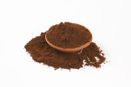tazón de café recién molido