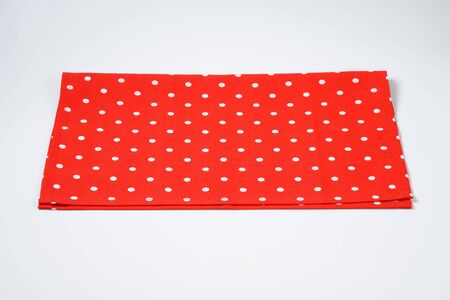 placemat: red and white polka dot placemat