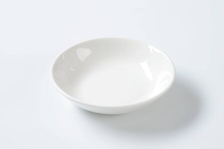 rimless: deep coupe shaped soup plate