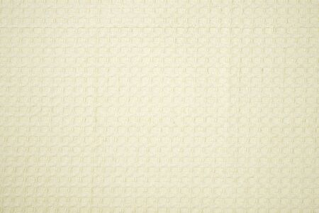 table linen: detail of creamy table linen