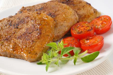 boneless: roasted herb rubbed boneless pork chops