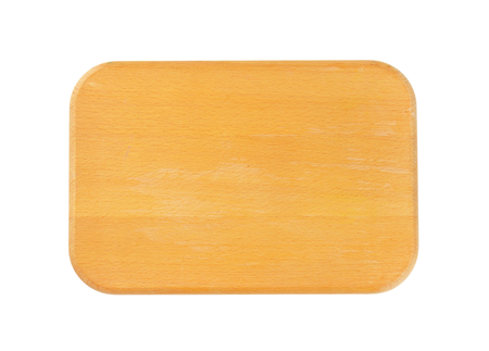 rounded edges: Rectangle wooden cutting board with rounded edges