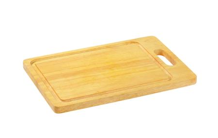 Planche à découper en bois rectangulaire avec jus de jus