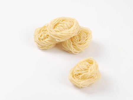 bundles: bundles of cooked Japanese noodles