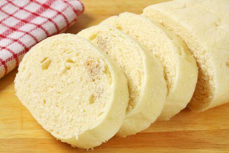 Plato lateral - Rebanadas de pan blanco bola de masa
