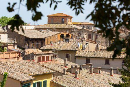 volterra: The town of Volterra, Tuscany, Italy