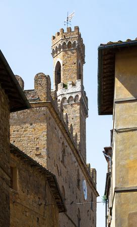 priori: Palazzo dei Priori in Volterra, Tuscany, Italy Editorial