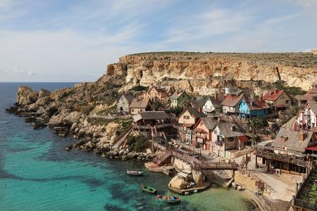 Popeye Village, also known as Sweethaven Village - a film set, Malta
