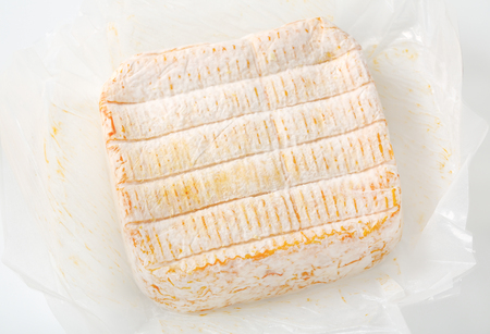 French soft cheese made mainly from milk from the Vosges Reklamní fotografie