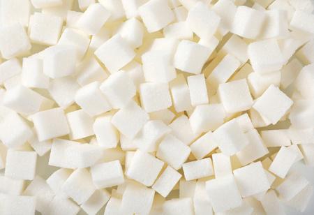 pile of white sugar cubes - full frame Reklamní fotografie - 106000236