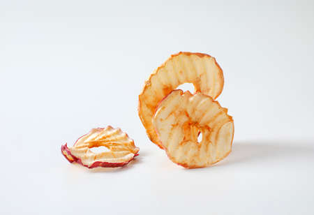 Apple chips (dried thin apple slices)