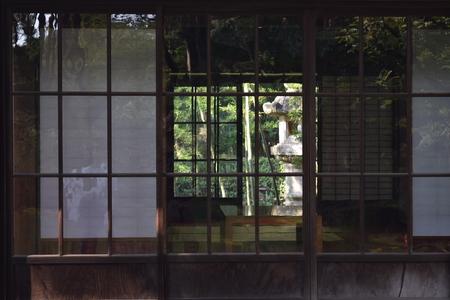 Interior of a traditional Japanese house, Tochigi, Japan Stockfoto