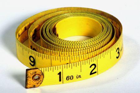 フィットネスや仕立て屋の測定テープ 写真素材 - 270013