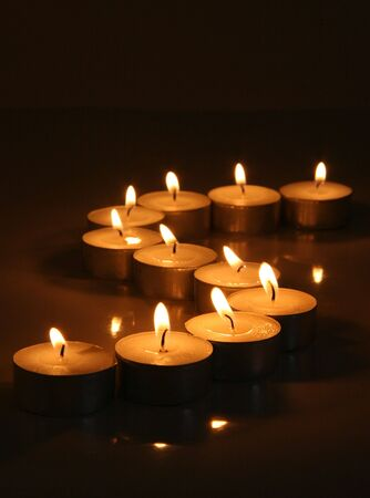 Tranquil Tea Light Candles
