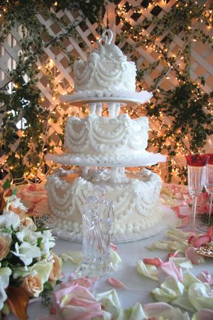 tier: 3 Tier Wedding Cake