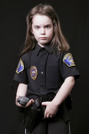 Child Police Officer Stock Photo - 297109