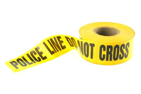 Police Line Tape Stock Photo - 297711