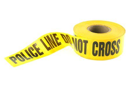 Police Line Tape Stock Photo - 297711