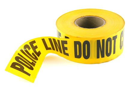 Police Line Tape Stock Photo - 297720