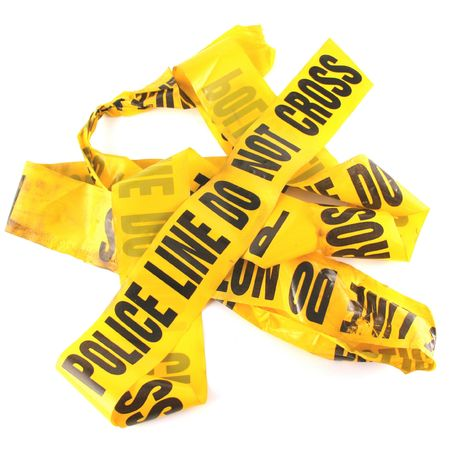 Police Line Tape Stock Photo - 297721