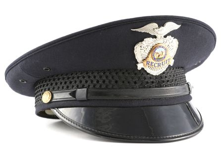 Police Recruit Academy Patrol Hat Cap photo