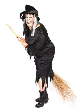 sorci�re halloween: Scary Halloween Witch femme