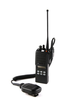 Police Communication Radio Stock Photo - 297647