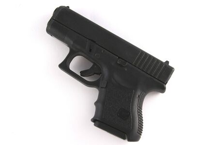 9mm Police Hand Gun Stock Photo - 297650