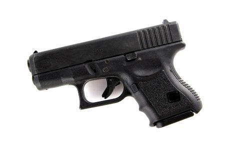 9mm Police Hand Gun Stock Photo - 297651