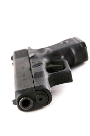 9mm Police Hand Gun Stock Photo - 297658
