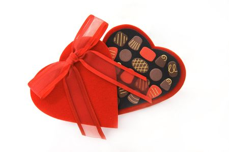 Valentine Heart Candy Box photo