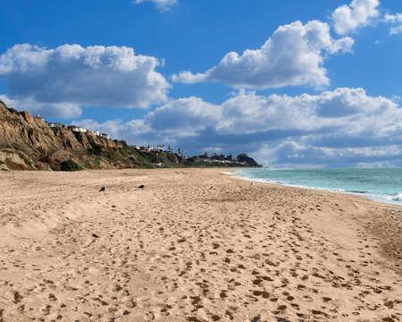 Outdoor Ocean , Beach and Sky Fantasy Scene Stock Photo - 395831