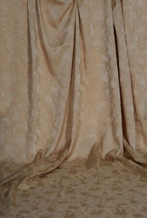 Gold Draped Backdrop Background