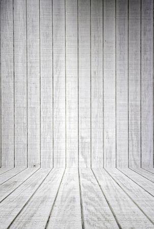 White planchas de madera con piso de antecedentes  Foto de archivo - 483814