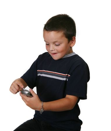 Diabetic Child Checking Blood Sugar Levels With Meter