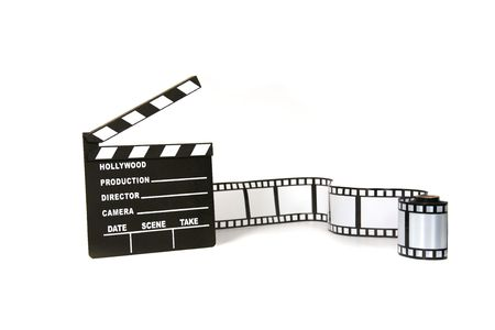 Studio Background of Film Related Items photo