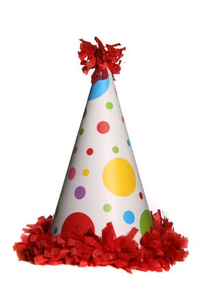 suprise: Birthday Party Celebration Hat Stock Photo
