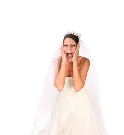 going crazy: Bride Going Crazy on Her Wedding Day