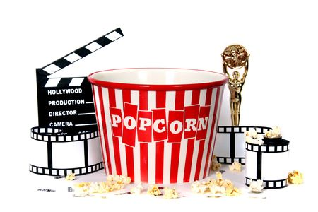 Studio Background of Film Related Items Stock Photo - 1779201