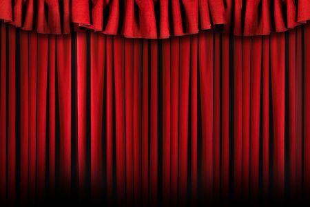 swag: Teatro etapa superior con cortinas Swag