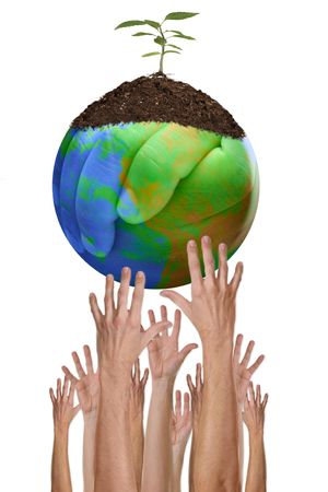 A Green Planet Earth Environment is Within Our Reach Stock Photo - 3647013
