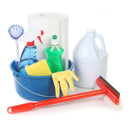 house chores: Cleaning Supplies for Around the House Chores
