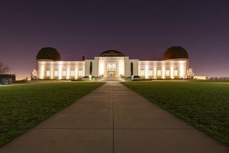 Griffith Observatory ? Los Angeles, en Californie